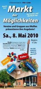 programm 2 0 1 0 / 2 0 1 1 - Gemeinschaftshaus Wulfen - Seite 2