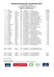 Staatsmeisterschaft Querfeldein 2011 - beim Free Eagle Fun Racing ...