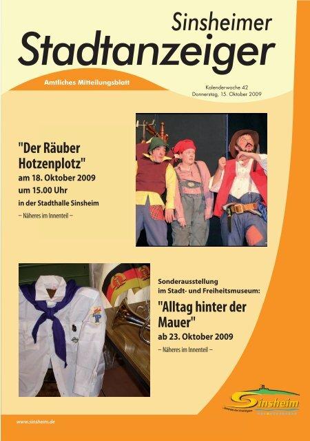 Sinsheimer Stadtanzeiger - Nussbaum Medien