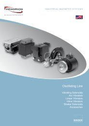 Oscillating Line - Kendrion