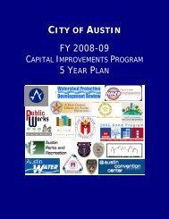 2008 - 2009 - City of Austin