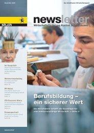 Ausgabe 4 - Dezember 2009 - Wirtschaftsförderung Kanton ...