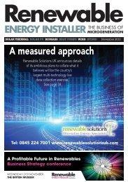 Knowledge - Renewable Energy Installer