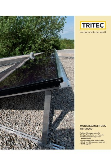 Download TRI-STAND Montageanleitung - Tritec