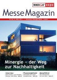 Minergie − der Weg zur Nachhaltigkeit
