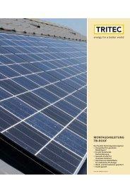 Montageanleitung tRi-RooF - Tritec
