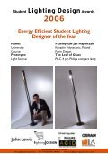 Finalist - The Lighting Association - Page 2