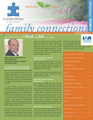PaUL Law - Autism Speaks