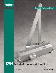 Series Light Commercial Door Closers 1700 - Task Fzc