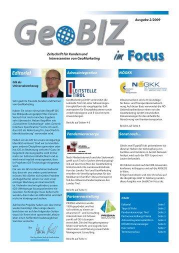 Editorial - GeoMarketing