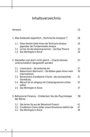 Inhaltsverzeichnis - Bauer, Gregor