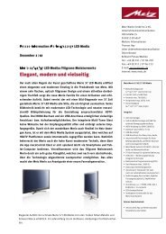 Merio 47/42/37 LED Media - Metz