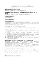 F A C H I N F O R M A T I O N ... - Genericon Pharma GesmbH