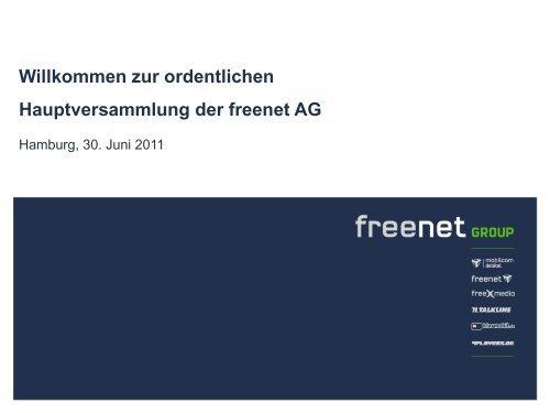 Freenet.Tv/Willkommen