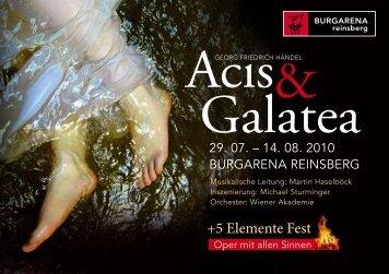 Acis & Galatea - Wiener Akademie