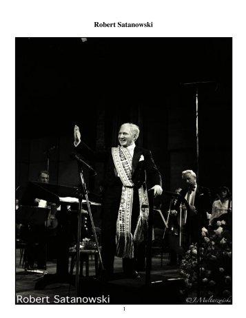 Robert Satanowski - Maestro