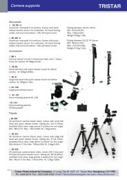 Adapters Camera supports - Tristar Photo