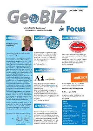 Mobilkom Austria AG & Co KG - GeoMarketing