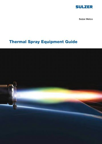 Thermal Spray Equipment Guide