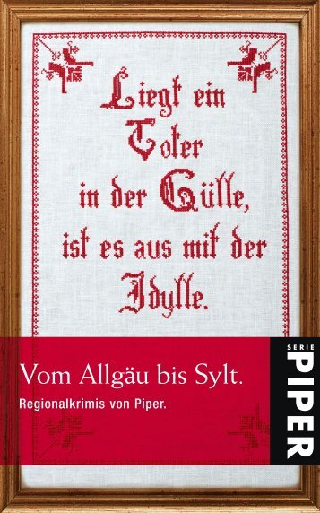 Vom Allgäu bis Sylt. - Piper Verlag GmbH