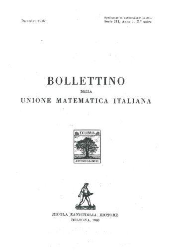 Unione matematica italiana, Elenco Soci - Euclide. Giornale di ...