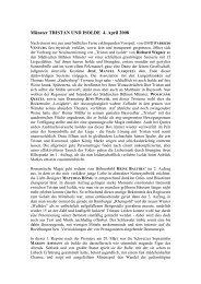 """Nürnberg: """"GOETTERDAEMMERUNG"""" – 8 - Suomen Wagner-seura"""