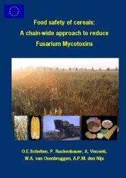 3. Fusarium mycotoxins in cereals - Plant Research International ...