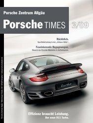 Effizienz braucht Leistung. Der neue 911 Turbo. - Porsche