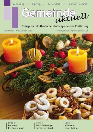 Gemeinde - Evangelisch-Lutherische Kirchengemeinde Freilassing