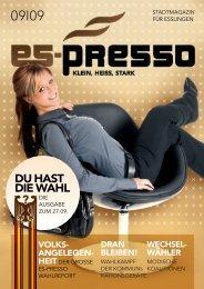 Download Ausgabe 09.2009 - Es-Presso