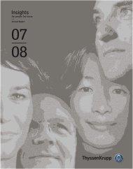 Annual Report 2007/2008 - ThyssenKrupp AG