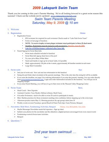 Swim serpentine for Asa swimming lesson plan template