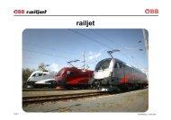 railjet - Schienenfahrzeugtagung Graz