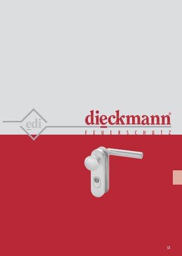 ALU Feuerschutzbeschlag - Dieckmann