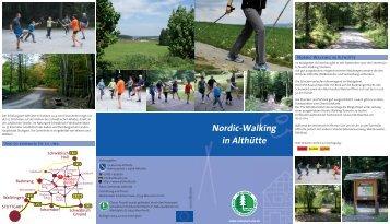 Nordic-Walking in Althütte - Naturpark Schwäbisch Fränkischer Wald
