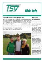 TSV Lang-G ¨ons - FSG Bie- bertal 5:0 - fussball@tsvlanggoens.de ...