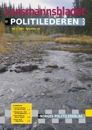 Lensmannsbladet / Politilederen nr. 5/2009 - Norges Politilederlag