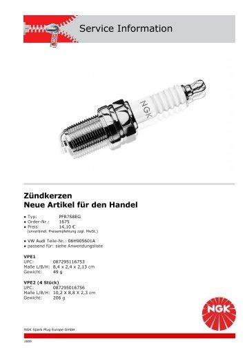 Service Information - Autoteile Pirna