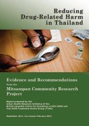 Reducing Drug-Related Harm in Thailand - Thai Aids Treatment ...
