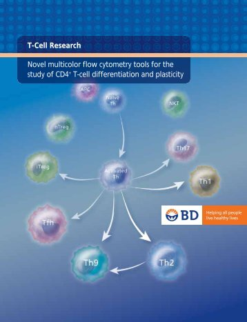 T Cell Research Brochure - BD Biosciences