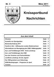 Heft 03/2011 - Lüneburger Ruder-Club von 1875 eV
