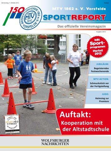 "Erstes ""Eltern-Kind-Turnier"" - MTV 1862 e.V. Vorsfelde"