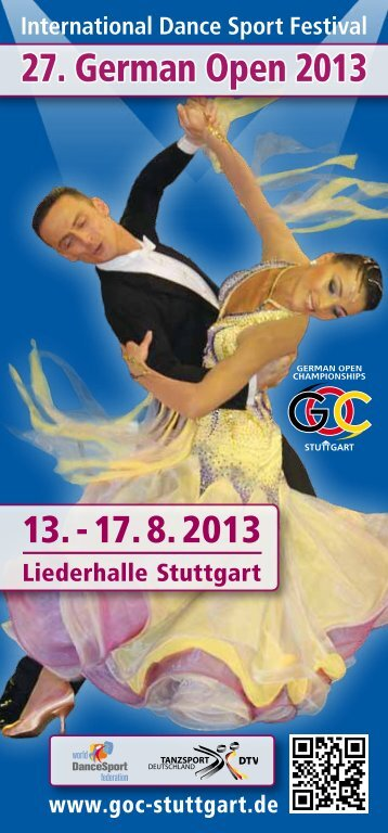 International Dance Sport Festival - German Open Championships