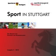 Sport IN STUTTGART - Website Ralf Knoll