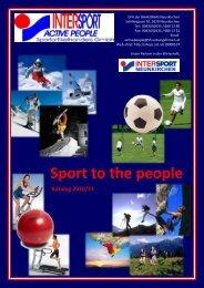 Sport to the people - ÜFA - Webseiten HAK-HAS Neunkirchen