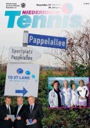 Dezember NT 12/2010 - Tennis-Verband Niederrhein e.V.