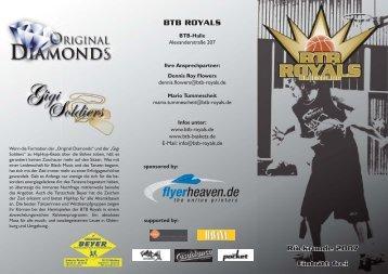 Eintritt frei - BTB Royals