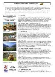 Classic Scotland 2013 MietwagenRR 14T - British Travel Company