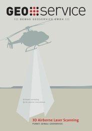 3D Airborne Laser Scanning - Geoservice