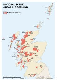 national scenic areas in scotland - Scottish Natural Heritage